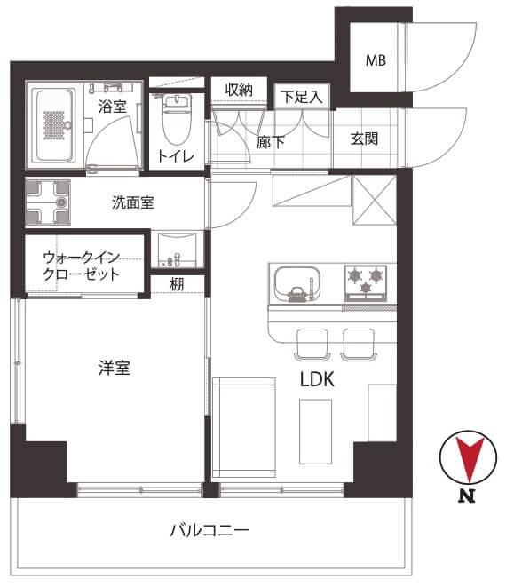 ドルミ錦糸町長谷川ビル201