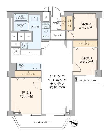 東急ドエルアルス石川台A-502